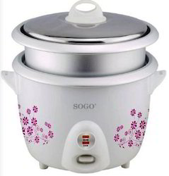 Sogo Electric Rice Cocker With Bowl