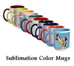 Sublimation Color Mugs - Sublimation Two Tone Mugs