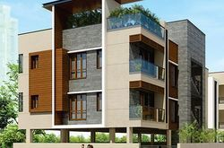 Poomalai Aksharaa Apartment Construction