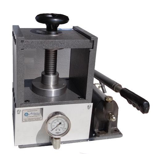 Grey Laboratory Hydraulic Press
