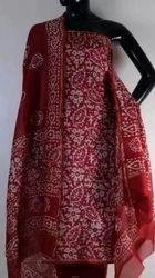 Chanderi Block Printed Suits
