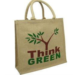 Jute Fabric Jute Shopping Bag, Capacity : 1 - 10 Kg