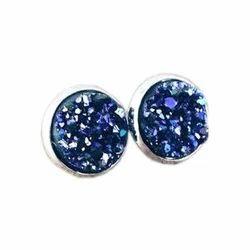 Druzy Earring Stone