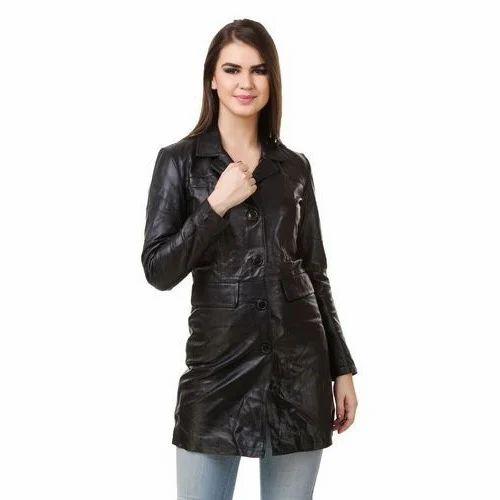 Ladies Long Jacket 6f9ffd7b59cb