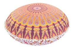 Mandala Ethnic Round Pillow Cover