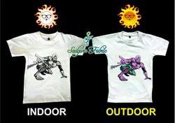 SF White Spiderman UV T Shirt