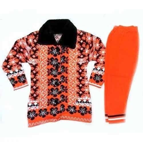 3d953b7c8b34 Baby Woolen Pajami Suit