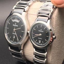 4ca0801111 Golden Stainless Steel Rado Watch For Ladies | ID: 17263871012