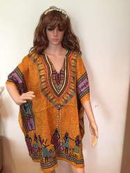 Ladies Half Sleeve Printed Kaftan