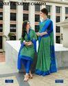Uniform saree and suit