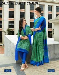 Uniform saree and suit
