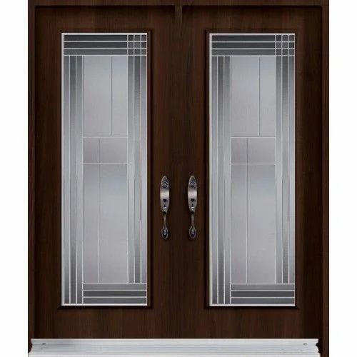 Entrance Glass Door At Rs 15000 Piece Entrance Door Id 13957761712