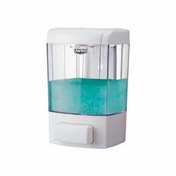 Orchids White Liquid Soap Dispenser, For Bathroom, Dimension/Size: L 130 Mm X W 115 Mm X H 220 Mm
