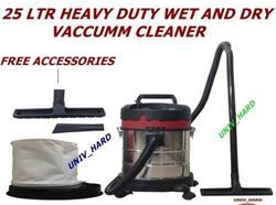 Vacuum Cleaner - Wet & Dry - Stainless 25 Litr