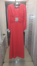 Pure Chiffon Party Wear Gown