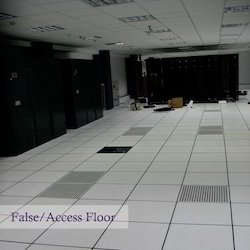Steel Cement Board False Access Flooring, Thickness: 33 mm, Size: 600 X 600 mm