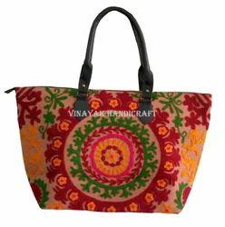 Embroidery Suzani Handbag Women Tote Shoulder Bags