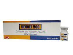 Devcef 500 (ceftriaxone For Injection For Usp)