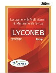 Lycopene Multi Vitamins Minerals(Lyconeb Syrup)