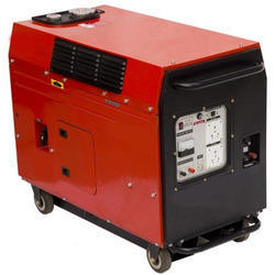ShivShakti Silent or Soundproof Silent Portable Generator 5 KVA (Three Phase), 220-240 V, for Industrial