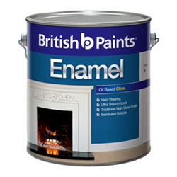 British Paints High Gloss British Oil Based Enamel Paint, Packaging Type: Tin