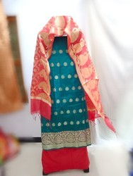 Cotton Zari Suit