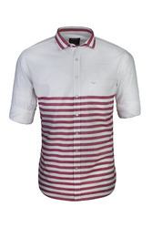 Red Horizontal Striped Shirt