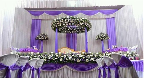 Wedding Reception Stages Evergreen Stage Decorations Events