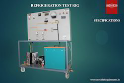 HC Refrigeration Test Rig
