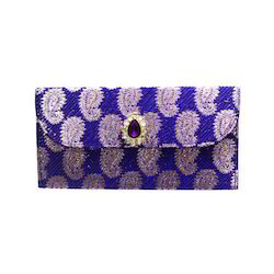 Purple Decorated Wedding Envelope, Size: 8 * 4 Inch
