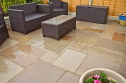 Sandstone Patio Paving