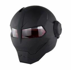 Dark Black Evil Graphic Next Generation Bike Helmet, Size: L