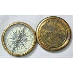 Own Golden Brass Sir William Compass, Packaging Size: Regular, Size/Diameter: Standard