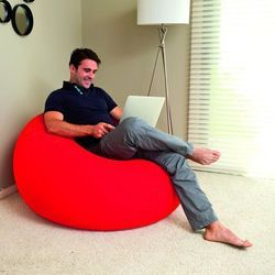 air chair inflatable relaxing single seat sofa