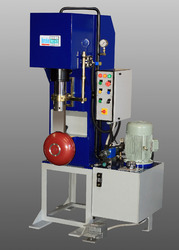 C Type Frame Hydraulic Riveting Press