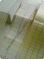 Self Adhesive Computer Labels