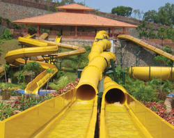 Body Twister Slide, Rider Capacity: 180 -240