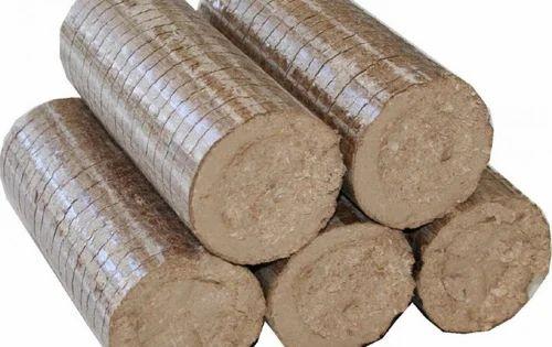 Agro Biomass Briquette, briquette fuel, बायोमास ब्रिकेट्स - Sankhala Agro Fuel Pvt. Ltd., Dhar   ID: 11420091173