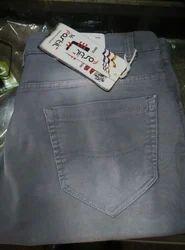 Slub Denim Jeans