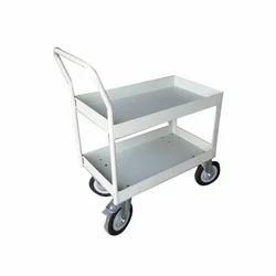 4 Wheel SS Trolley, Load Capacity: 0-50 kg