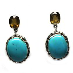 Silver Turquoise Earring