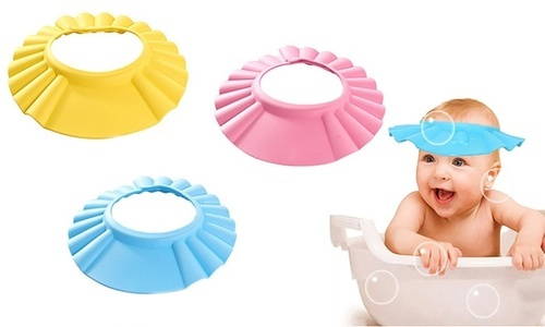 4d14f85c0fe Adjustable And Soft Baby Shower Cap at Rs 103.5  piece