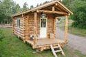 Timber Log House