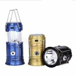 6 -10 W Solar Rechargeable LED Lamp 5800T, Voltage : 1.2/2.4 V