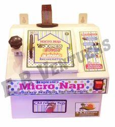 Eco Friendly Micro Nap Sanitary Napkin Incinerator