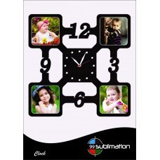 Mdf Photo Frame Wall Clocks At Rs 499 Piece Mdf Picture Frames