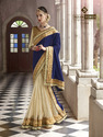 Royal Violet Saree