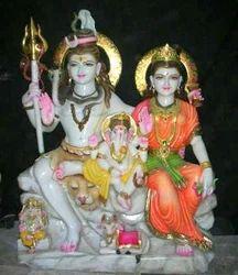 Shiv Parvati Statues