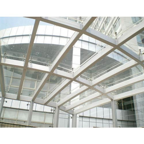 Glass Spider Canopy At Rs 850 Square Feet ग्लास कैनोपी