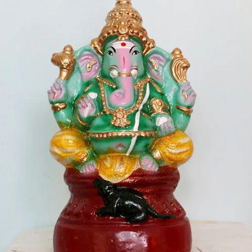 Terracotta Amp Clay Clay Ganesh Statue Rs 450 Unit Sai